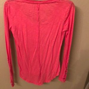 Mudd Tops - Long sleeve shirt with partial laced sleeves